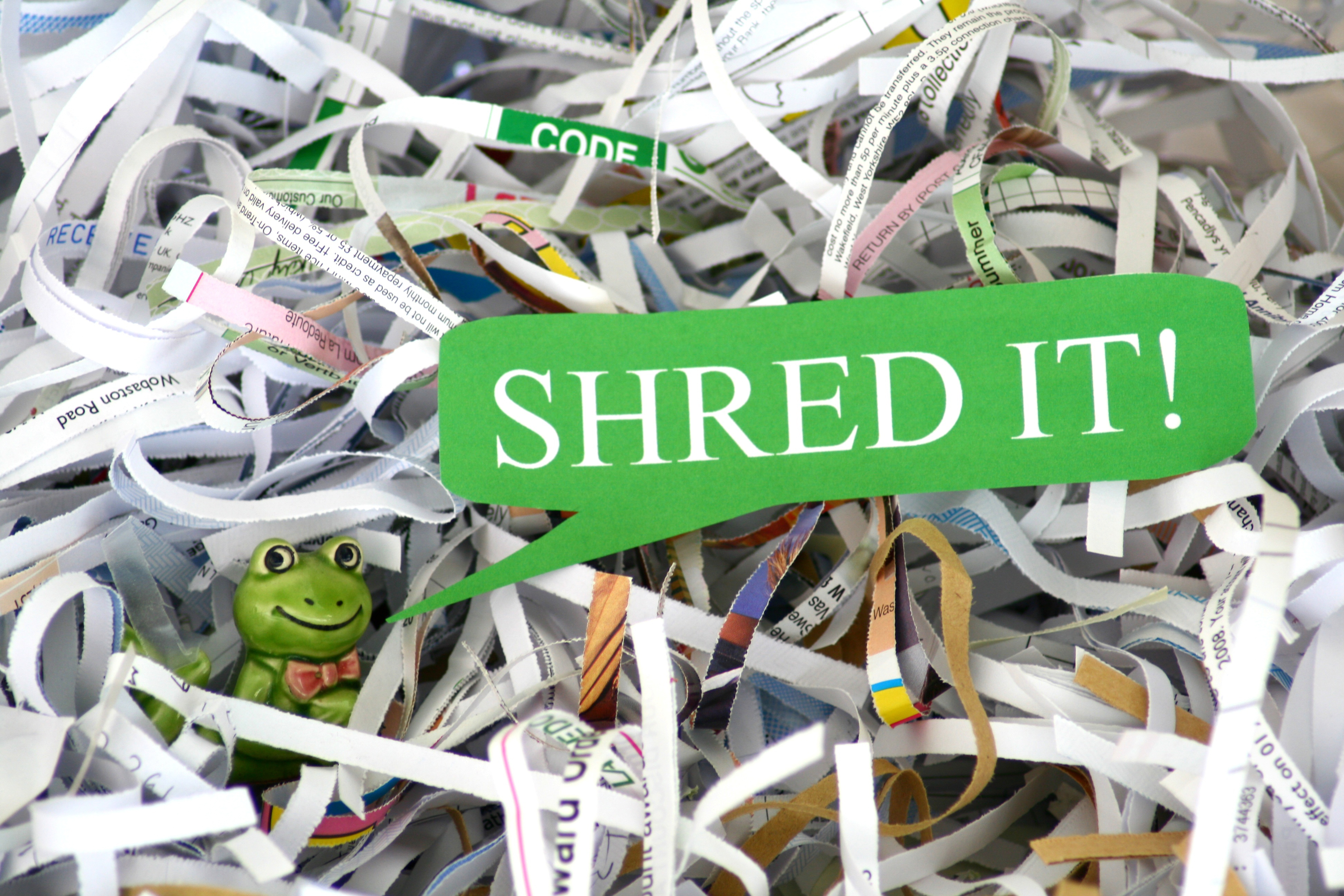 Live Document Shredding at the Recovery Yard | Recycle Ann Arbor