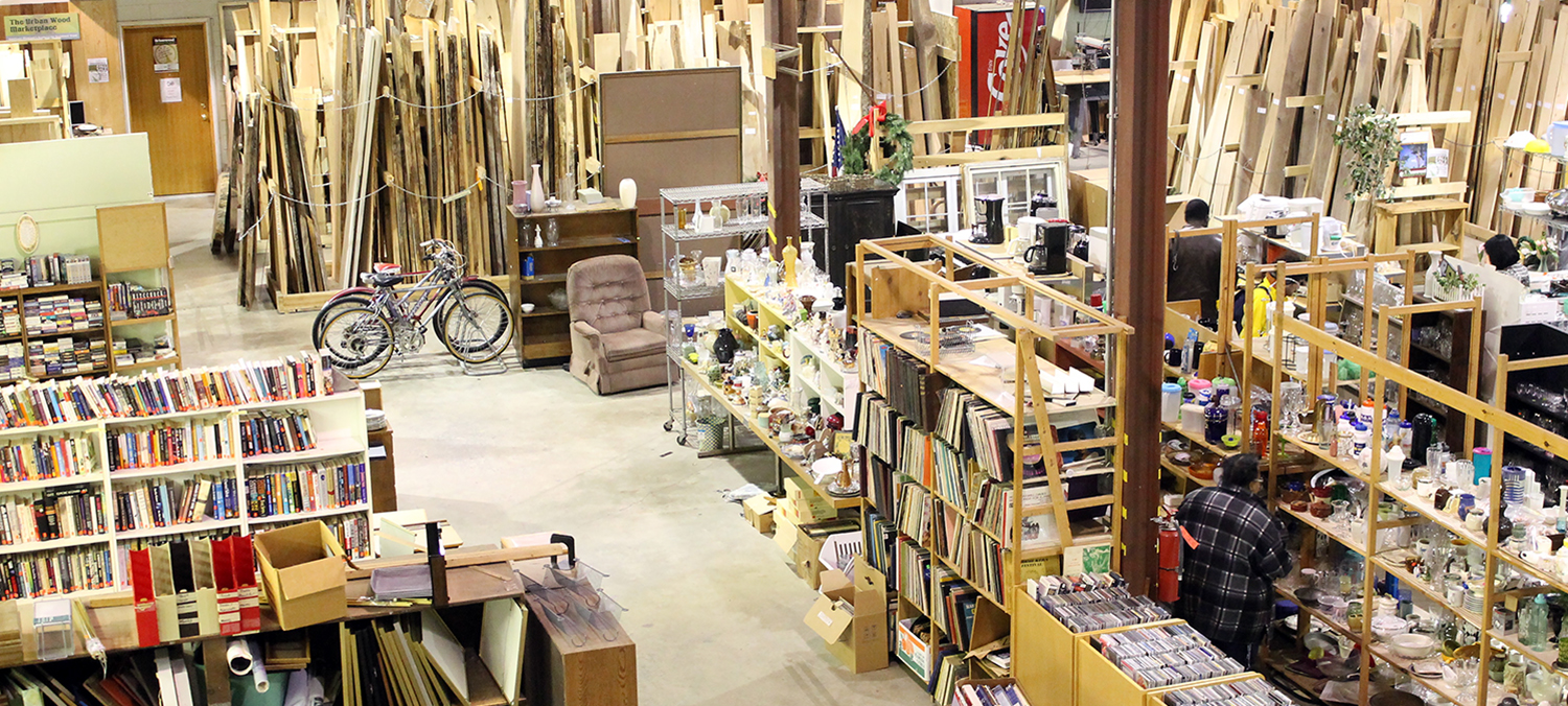 The Reuse Center Will Not Reopen. Stay Tuned for Recycle Ann Arbor's Future Reuse Plans.