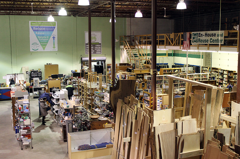The Recycle Ann Arbor Reuse Center has closed.