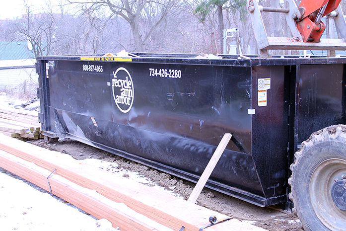 Roll-Off Container Dumpster